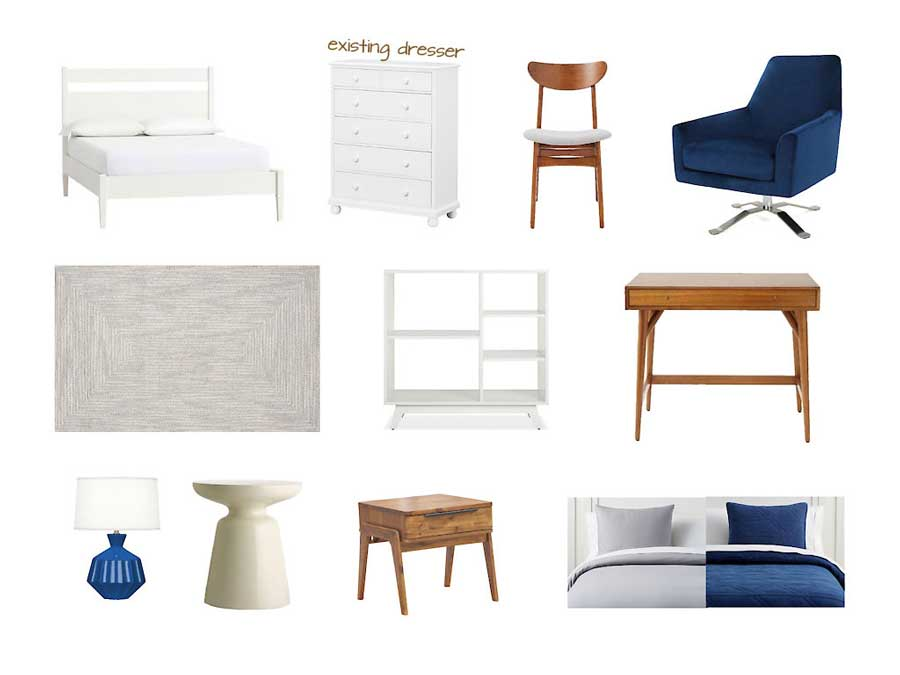 Classic Kids Room Furniture